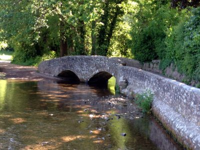 Packhorse Bridge Dunster